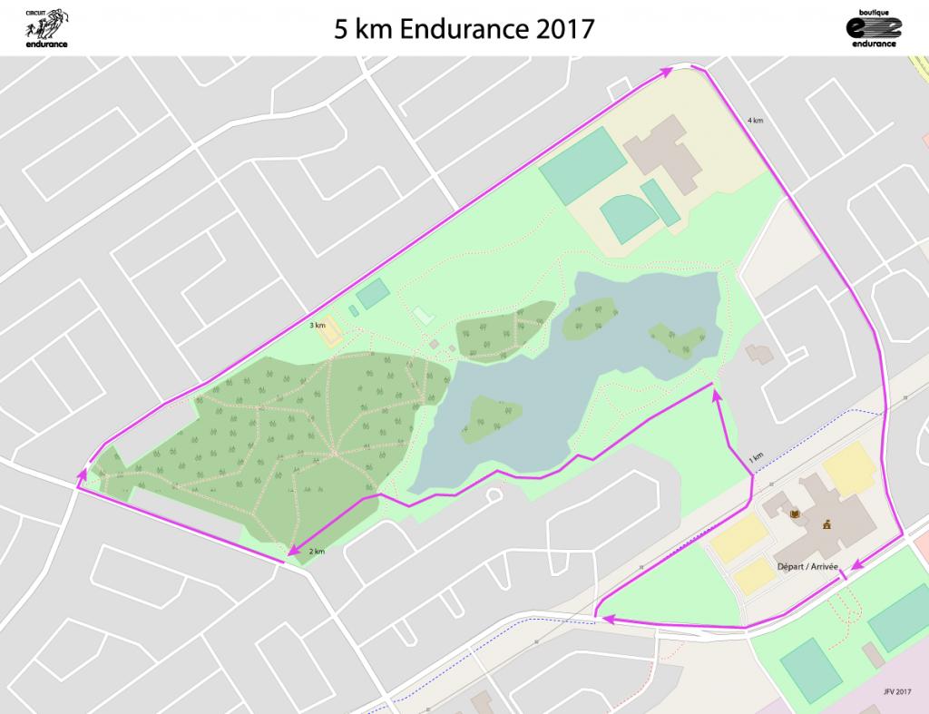 Carte 5 km