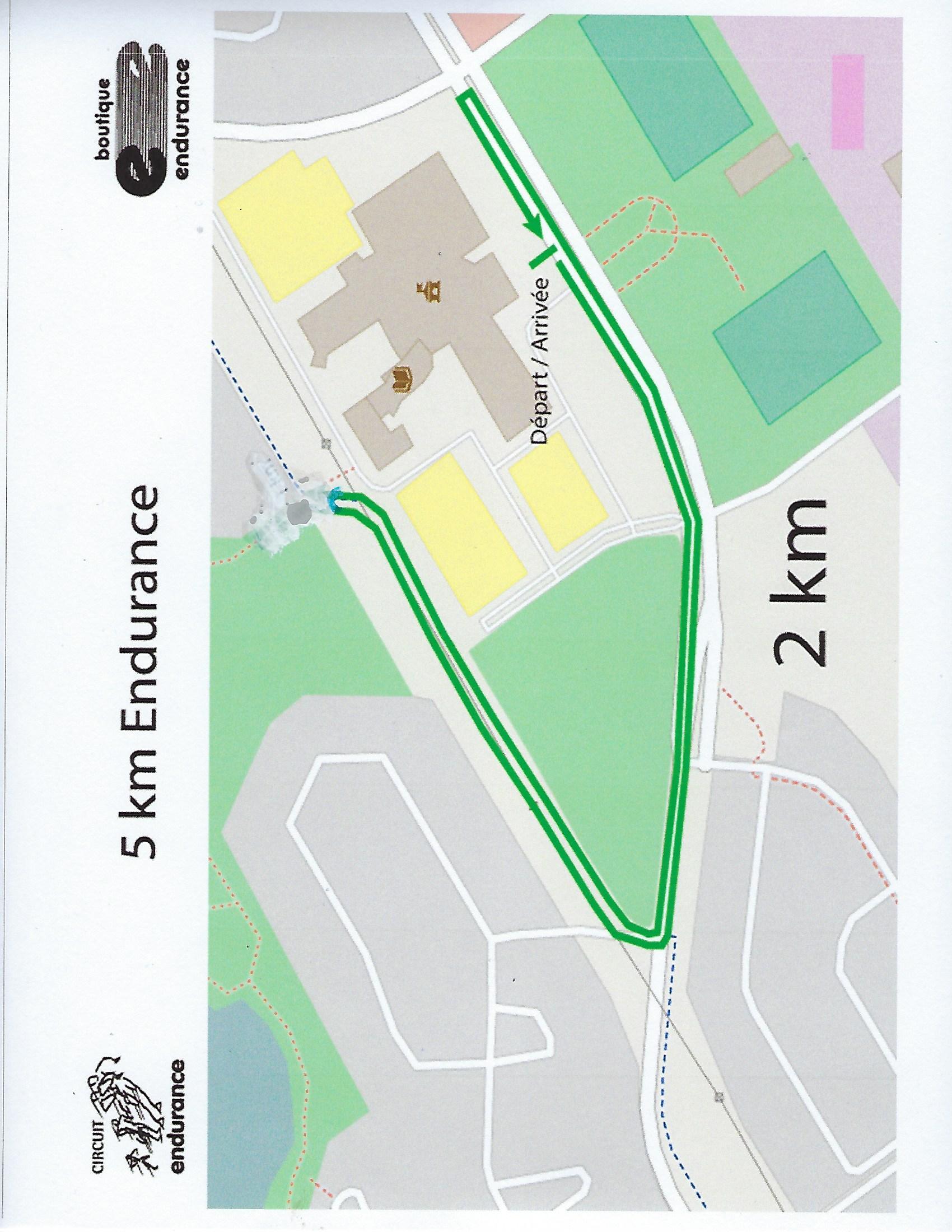 Carte 2 km